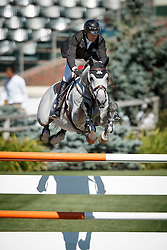 Lamaze Eric, (CAN), Houston<br /> Telus Cup<br /> Spruce Meadows Masters - Calgary 2015<br /> © Hippo Foto - Dirk Caremans<br /> 09/09/15