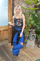 PHOEBE-LETTICE THOMPSON at the Warner Music Group Summer Party in association with British GQ held at Shoreditch House, Ebor Street, London E2 on 8th July 2015.