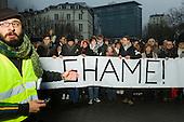 20110123 shame demonstration Belgium