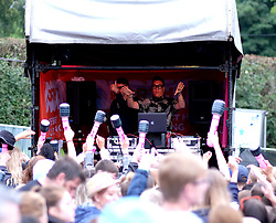 Party At The Palace, Sunday 12th August 2018<br /> <br /> Pictured: Gok Wan plays a DJ set<br /> <br /> Aimee Todd | Edinburgh Elite media