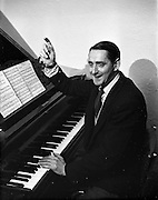 2/10/1952<br /> 10/2/1952<br /> 2 October 1952 <br /> <br /> Photo of Mr. Paddy Malone the Dance Band Leader