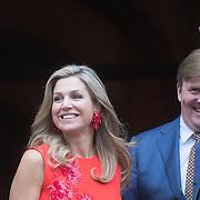NLD/Amsterdam/20161215 - Koninklijke Familie bij uitreiking Prins Claus Prijs 2016, Koningin Maxima en Koning Willem Alexander