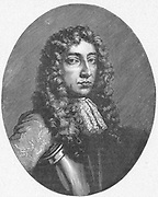Anthony Ashley Cooper, lst Earl of Shaftesbury (1621-1683).  In English Civil Wars was at first a Royalist but in 1644 attached himself to the Parliamentarians. In 1660, one of the 12 commissioners sent to France to Charles II to invite him to return to England.