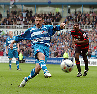 Photo: Kevin Poolman.<br /> Reading v Queens Park Rangers. Coca Cola Championship. 30/04/2006. Graeme Murty scores his first goal of the season.