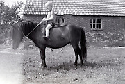 boy on a pony 1960s