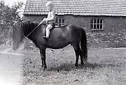 boy on a pony 1960s