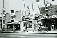 1975 Tom's Adult Bookstore & Theater on Hollywood Blvd.