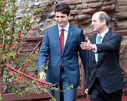 26.05.2017, Taormina, ITA, 43. G7 Gipfel in Taormina, im Bild Kanadas Premierminister Justin Trudeau // Canada's Prime Minister Justin Trudeau during the 43rd G7 summit in Taormina, Italy on 2017/05/26. EXPA Pictures © 2017, PhotoCredit: EXPA/ Johann Groder