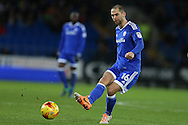 Matthew Connolly of Cardiff city in action. EFL Skybet championship match, Cardiff city v Aston Villa at the Cardiff City Stadium in Cardiff, South Wales on Monday 2nd January 2017.<br /> pic by Andrew Orchard, Andrew Orchard sports photography.