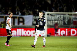 October 14, 2017 - Drammen, NORWAY - 171014 Eirik Ulland Andersen of StrÂ¿msgodset celebrates 1-0 during the Eliteserien match between StrÂ¿msgodset and Odd on October 14, 2017 in Drammen..Photo: Jon Olav Nesvold / BILDBYRN / kod JE / 160044 (Credit Image: © Jon Olav Nesvold/Bildbyran via ZUMA Wire)