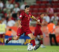 Koln 11/6/2006 World Cup 2006<br /> <br /> Angola Portugal - Angola Portogallo 0-1<br /> <br /> Photo Andrea Staccioli Graffitipress<br /> <br /> Luis Figo Portogallo