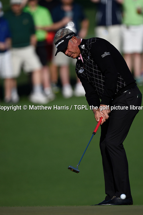 Darren CLARKE (NIR) during second round US Masters 2014,Augusta National,Augusta, Georgia,USA.