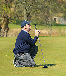 Scotland's First Minister, The Rt Hon Alex Salmond MSP at Haddington Golf Club: Picture Stuart Adams
