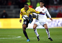 FOOTBALL - FRENCH CHAMPIONSHIP 2009/2010  - L1 - OLYMPIQUE LYON v FC SOCHAUX - 17/10/2009 - <br /> <br /> NICOLAS MAURICE BELAY (SO)<br /> Norway only