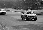 16/09/1967<br /> 09/16/1967<br /> 16 September 1967<br /> Phoenix Park Motor Racing, Kingsway Trophy Race, sponsored by Player and Wills (Ireland) Limited. <br /> Image shows S. McCormack's Honda (43); K.G. Carson's M.G. Midget (40) and G.W. Drew's A-H Sprite (39).