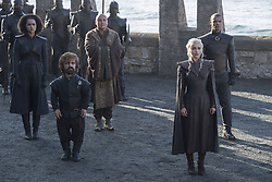 September 1, 2017 - Nathalie Emmanuel, Peter Dinklage, Conleth Hill, Emilia Clarke, Jacob Anderson..'Game Of Thrones' (Season 7) TV Series - 2017 (Credit Image: © Hbo/Entertainment Pictures via ZUMA Press)