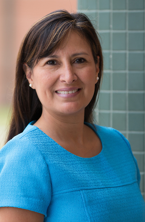 Principal Maggie Gardea from B.C. Elmore Elementary School.