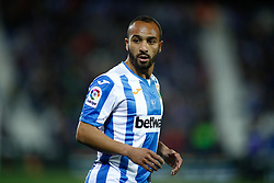 March 16, 2019 - Leganes, MADRID, SPAIN - Nabil El Zhar of Leganes during the spanish championship, La Liga, football match played between CD Leganes and Girona FC at Butarque Stadium in Leganes, Madrid, Spain, on March 16, 2019. (Credit Image: © AFP7 via ZUMA Wire)