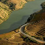 Douro river near Foz Coa