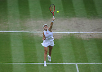 Lawn Tennis - 2021 All England Championships - Week Two - Thursday - Wimbledon - Ladies Semi Final . Ashleigh Barty v Angelique Kerber <br /> <br /> Angelique Kerber of Gernany<br /> <br /> Credit : COLORSPORT/Andrew Cowie