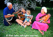 Active Aging Senior Citizens, Retired, Activities, Elderly Couple Outdoor Recreation, Staying Fit, Enjoying Nature Elderly Sing and Play Musical Instruments, Staying Young, Active Minds
