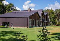 Valkenswaard  - oefenfaciliteiten, oefencentrum, indoor, outdoor, drivin range,  ,  Eindhovensche Golf Club.   COPYRIGHT KOEN SUYK
