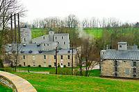 Woodford Reserve Distillery (premium bourbon), Versailles (near Lexington), Kentucky USA