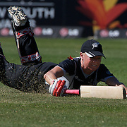 Kate Pulford makes her ground during the match between New Zealand and India in the Super 6 stage of the ICC Women's World Cup Cricket tournament at North Sydney  Oval, Sydney, Australia on March 17, 2009. New Zealand beat India by 5 wickets. Photo Tim Clayton