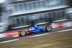 August 31, 2018 - Portland, Oregon, United Stated - SCOTT DIXON (9) of New Zealand takes to the track to practice for the Portland International Raceway at Portland International Raceway in Portland, Oregon. (Credit Image: © Justin R. Noe Asp Inc/ASP via ZUMA Wire)