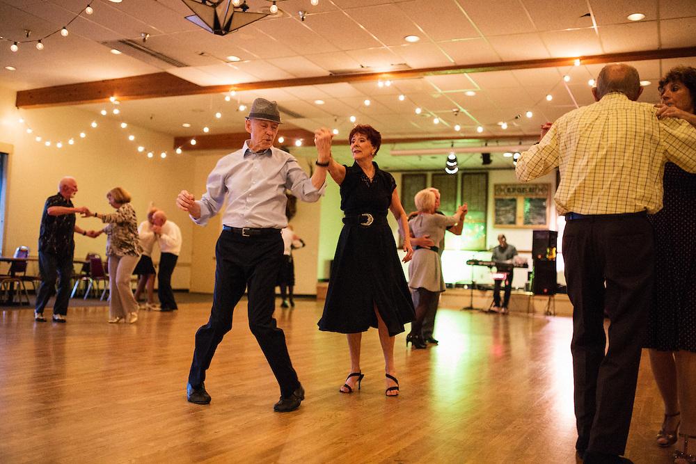 Ballroom dancing night at the Ballard Elk's Club. May 15, 2016.<br /> <br /> Matt Lutton / Boreal Collective for Buzzfeed