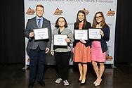 Advance Food Company Endowed Scholarship, Rachel Olivieri, Kaylee Brunker, Meredith Bush, Frederick Mergner