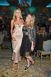 Left to right, KIMBERLEY GARNER and OLIVIA COX at the Quintessentially Foundation's Poker Night held at The Savoy, London on 13th October 2016.