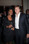 DIANE HENRY LEPART; JOCHEN ZEITZ, Fundraising Gala for the Zeitz foundation and Zoological Society of London hosted by Usain Bolt. . London Zoo. Regent's Park. London. 22 November 2012.