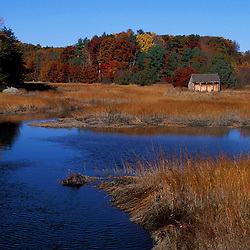 Crommett Creek drains into Great Bay and is a tidal creek.  Durham, NH