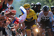 Geraint Thomas (GBR - Team Sky) during the 105th Tour de France 2018, Stage 14, Saint-Paul-trois-Chateaux - Mende (188 km) on July 21th, 2018 - Photo Kei Tsuji / BettiniPhoto / ProSportsImages / DPPI