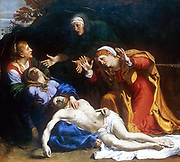 The Three Marys (The Dead Christ Mourned) 1604.  Annibale Carraci (1560-1609). Oil on canvas.