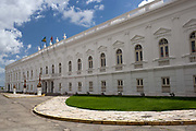 Leos Palace in the old town of Sao Luis, state capital of Maranhao in Northeastern Brazil, 10th May 2014.