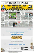 October 04, 2021 - ASIA-PACIFIC: Front-page: Today's Newspapers In Asia-Pacific