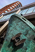 Ship sculpture by Michael Sandle International Maritime Organization, London