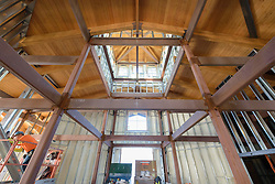 Meigs Point Nature Center at Hammonasset Beach State Park  <br /> Connecticut State Project No: BI-T-601<br /> Architect: Northeast Collaborative Architects  Contractor: Secondino & Son<br /> James R Anderson Photography New Haven CT photog.com<br /> Date of Photograph: 4 December 2015<br /> Camera View: 22