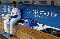 June 20, 2017 - Los Angeles, California, U.S. - Los Angeles Dodgers' Cody Bellinger prior to a Major League baseball game against the New York Mets at Dodger Stadium on Tuesday, June 20, 2017 in Los Angeles. (Photo by Keith Birmingham, Pasadena Star-News/SCNG) (Credit Image: © San Gabriel Valley Tribune via ZUMA Wire)