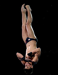 England's Matthew Dixon at Men's 10m Platform Final the Optus Aquatic Centre during day ten of the 2018 Commonwealth Games in the Gold Coast, Australia.
