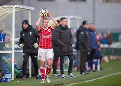 Flo Allen of Bristol City Women - Mandatory by-line: Paul Knight/JMP - 28/03/2018 - FOOTBALL - Stoke Gifford Stadium - Bristol, England - Bristol City Women v Birmingham City Ladies - FA Women's Super League