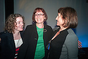 GEORGETT MULHEIR; PAM WARHURST; BEEBAN KIDRON, UnSeen Narratives, Ted Salon, Unicorn Theatre, Tooley St. London. 10 May 2012.
