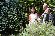 MIRIAM CLEGG; ( Miriam Gonzalez Durantez ), PRESS PREVIEW. The RHS Chelsea Flower Show 2011. The Royal Hospital grounds. Chelsea. London. 23 May 2011. <br /> <br />  , -DO NOT ARCHIVE-© Copyright Photograph by Dafydd Jones. 248 Clapham Rd. London SW9 0PZ. Tel 0207 820 0771. www.dafjones.com.