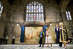 Königin Maxima und König Willem Alexander zu Besuch in der Universität von Sydney <br /> <br /> / 031116 <br /> <br /> *** King Willem-Alexander and Queen Maxima of The Netherlands visit the University of Sydney. The Dutch King and Queen are in Australia for a 5 day state visit; November 3rd, 2016 ***