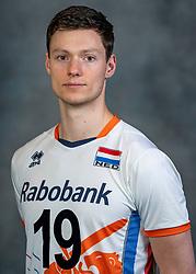 21-05-2019 NED: Team shoot Dutch volleyball team men, Arnhem<br /> Just Dronkers #19 of Netherlands