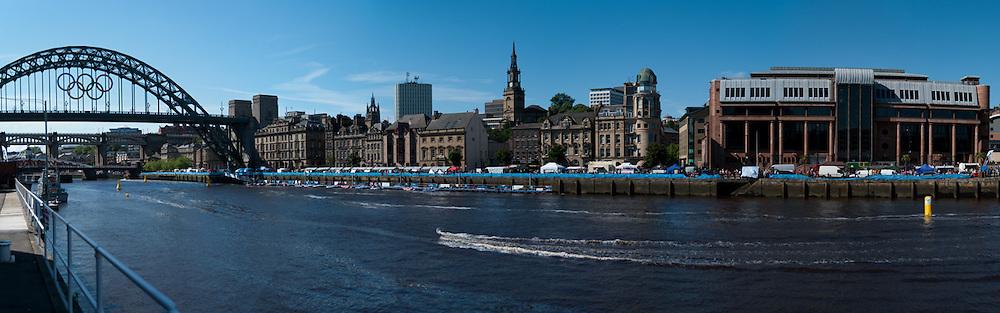 Tyne Bridge and Newcastle Quayside