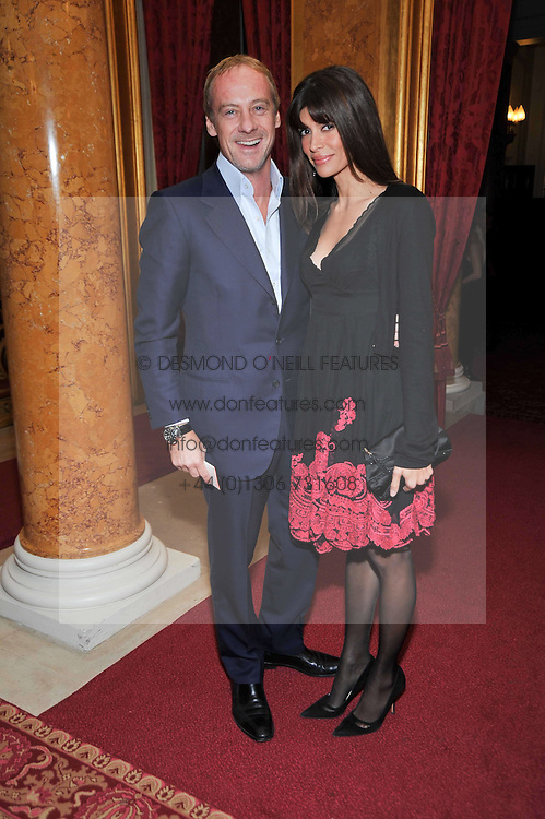 ANTON & LISA BILTON at a party to celebrate 300 years of Tatler magazine held at Lancaster House, London on 14th October 2009.