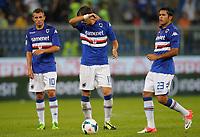 "Manolo Gabbiadini Sampdoria, Citadin Martins Eder Sampdoria,<br /> Genova 24/8/2013<br /> Stadio ""Luigi Ferraris"" <br /> Football Calcio 2013/2014 Serie A <br /> Sampdoria - Juventus <br /> Foto Marco Bertorello Insidefoto"